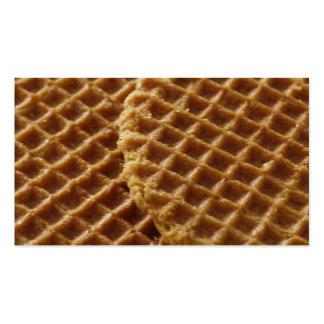 Waffles Cartão De Visita