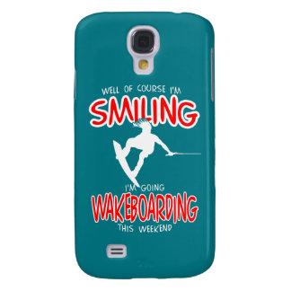 WAKEBOARDING de SORRISO Weekend 1 BRANCO Capa Samsung Galaxy S4