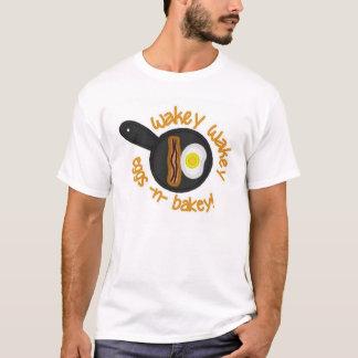 Wakey Wakey Eggs o t-shirt de n Bakey Camiseta