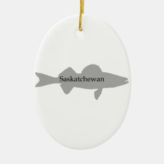 Walleye de Saskatchewan Canadá Enfeites Para Arvores De Natal