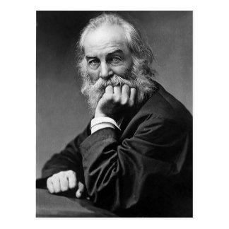 """Walt Whitman """"cara sempre para a luz do sol """" Cartão Postal"""