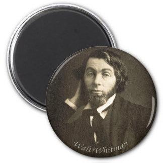 Walt Whitman novo Ímã Redondo 5.08cm