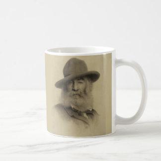 Walt Whitman o bom poeta cinzento Caneca De Café