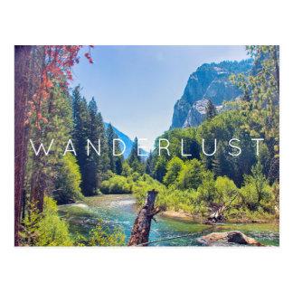 Wanderlust - cartão dos reis Garganta | Cartão Postal