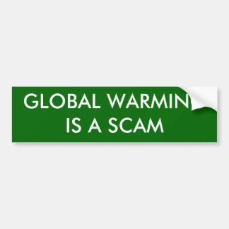 WARMINGIS GLOBAL SCAM ADESIVO PARA CARRO