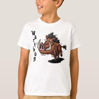 Warthog caçoa a camisa