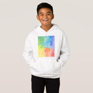 Watercolour do Squiggle do arco-íris