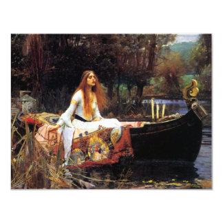 Waterhouse a senhora de convites de Shalott
