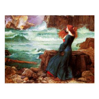 Waterhouse Miranda o cartão da tempestade