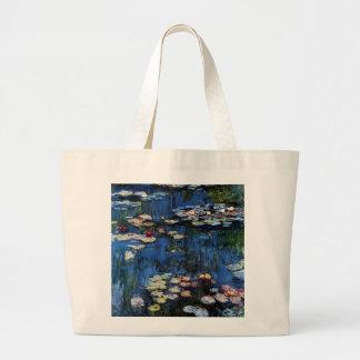 Waterlilies; 1914 bolsa para compras