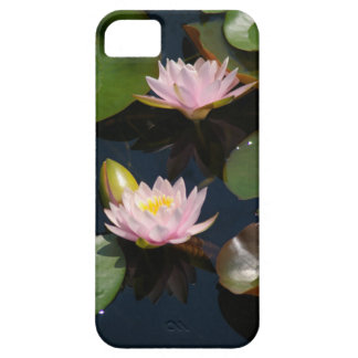 Waterlilies cor-de-rosa capas para iPhone 5