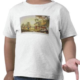 Watu Ticaba, uma vila de Wapisiana, 'das vistas em Camisetas