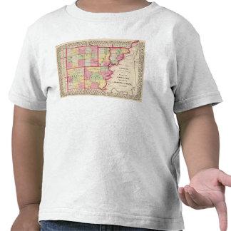 Wayne Edwards Wabash Hamilton condados brancos Tshirts