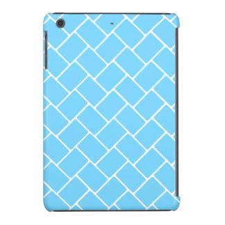 Weave de cesta dos azul-céu capa para iPad mini retina