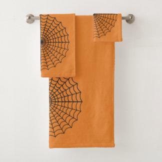 Web de aranha - grupo de 3 toalhas