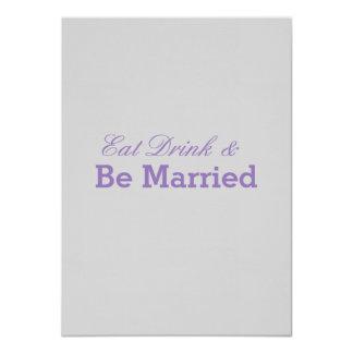 Wedding Convite 11.30 X 15.87cm