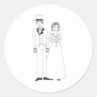 Wedding de Jane Austen Adesivo