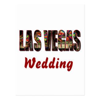 Wedding de Las Vegas Cartão Postal
