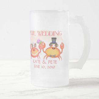 Wedding/economias o anúncio da data canecas