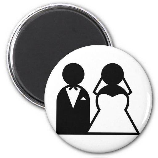 wedding imãs de geladeira