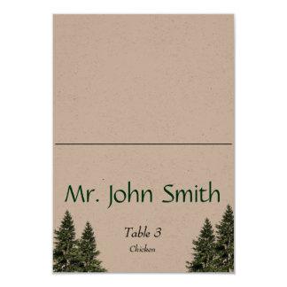 Wedding no cartão da escolta das madeiras