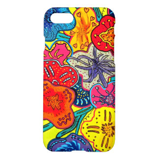 Weirdacious floral capa iPhone 7