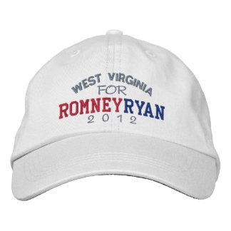 West Virginia Mitt Romney Paul Ryan 2012 Boné