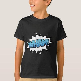 Wham! Expressão cómica da explosão Camiseta