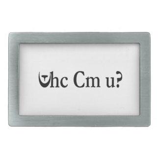 Whc Cm U?