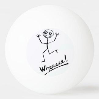 Wheeeee! Bola de Pong do sibilo