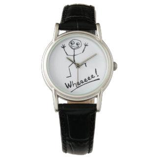 Wheeeee! O relógio da mulher