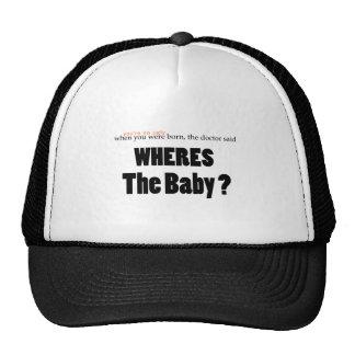 Wheres o bebê boné
