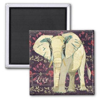 White Elephant Love Magnet