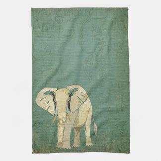 White Elephant Towel