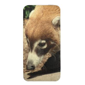 white-nosed-coati-4 bolsinha de celular