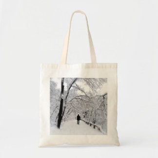 Whiteout do inverno bolsa tote