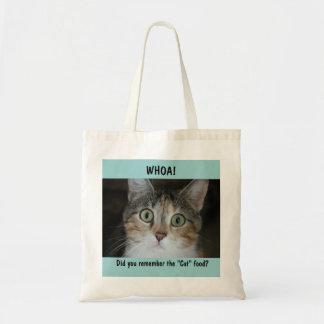 Whoa Gato Bolsa Para Compras