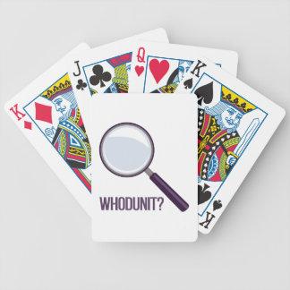Whodunit Baralhos Para Poker