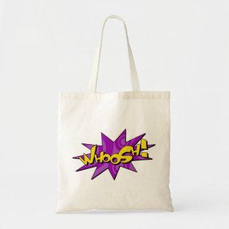 Whoosh o saco cómico bolsa para compras