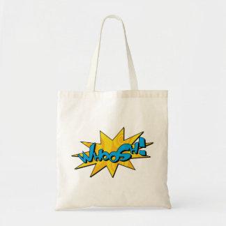 Whoosh o saco cómico bolsa para compra