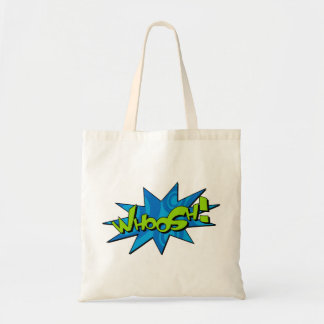 Whoosh o saco cómico bolsas para compras