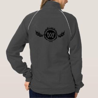 Widdermackers na jaqueta da trilha do inferno