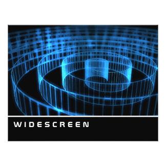 Widescreen - espiral panfleto personalizados
