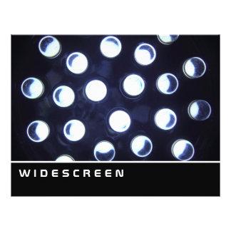 Widescreen - luz do diodo emissor de luz modelos de panfleto