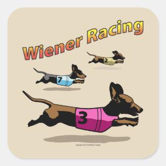 Wiener que compete a etiqueta