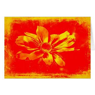 Wildflower de Susan de olhos pretos - arte de Cartão Comemorativo