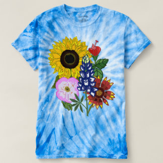 Wildflowers de Texas Camiseta