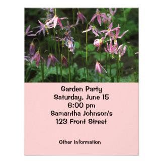 Wildflowers - lírios de jovem corça convite