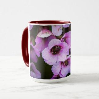 Wildflowers roxos caneca