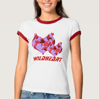 Wildheart, no malva camiseta